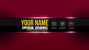 Youtube Channel Banners 2048x1152 Youtube Banner Template Psd Cyberuse For Banner