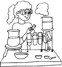 Small Picture Chemistry Coloring Pages creativemoveme