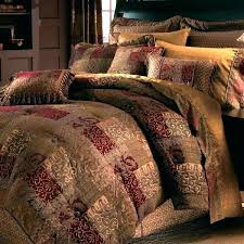 cal king bedding sets bed in a bag cal king king quilt bedding sets country red