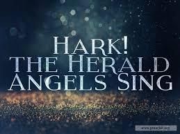 hark the herald angels sing background. In Hark The Herald Angels Sing Background
