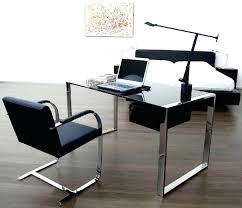 double sided office desk dual creative ideas screen