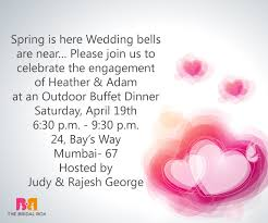 9 must have indian engagement invitation wording ideas Wedding Invite Wordings For Whatsapp indian engagement invitation wording wedding bells are near indian wedding invitation wording for whatsapp