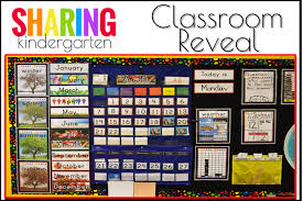 Calendar Time Summer Linky Party Sharing Kindergarten