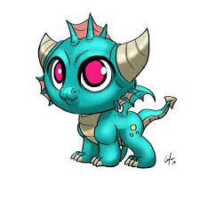 How To Draw A Chibi Kawaii Dragon Step By Step