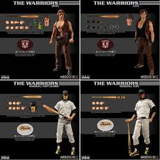 THE WARRIORS ONE 12 COLLECTIVE DELUXE BOX SET WITH 4 FIGURES FROM MEZCO TOYZ