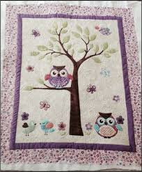 Owl Baby Quilt Whoooo wouldnt love to cuddle with this adorable ... & Owl Baby Quilt Whoooo wouldnt love to cuddle with this adorable baby quilt??  It would be a perfect gift for either a baby boy or a girl, infant or… Adamdwight.com