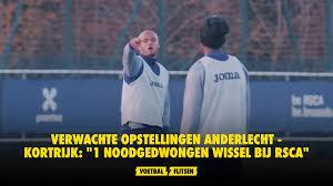 Verwachte opstellingen Anderlecht - KV Kortrijk: