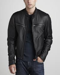 back to men s leather motorcycle jackets mens leather motorcycle jackets burberry brit leather motorcycle jacket at neimanmarcus