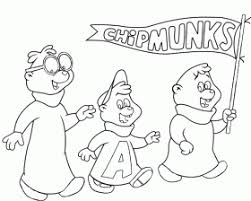 Small Picture Munk As Humans Alvin And The Chipmunks Coloring Page