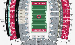 Schottenstein Arena Seating Chart Studious Ohio State University Football Stadium Seating