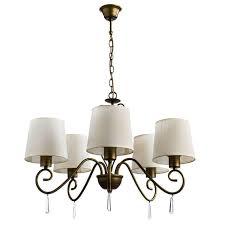 <b>Подвесная люстра Arte</b> Lamp Carolina A9239LM-5BR