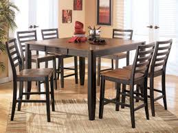 Wood Dining Table Set Round Dining Table Set For 6 7 Pc Williams Wood Round Dining