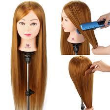 Salon Mannequinkopf 30 Frisuren Puppe Friseur Kosmetik Haar