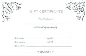 Gift Voucher Template Free Download Cool Free Business Gift Certificate Template Experiencenow
