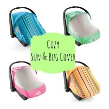 cozy sun and bug cover cozy car seat