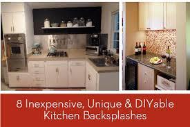 cheap kitchen backsplash ideas. Perfect Cheap Cheap Back Splash Ideas Exquisite 11 Eye Candy 8 Inexpensive Unique  And DIYable Backsplash In Kitchen