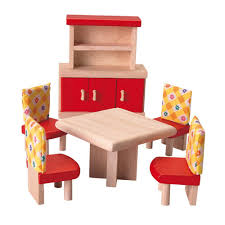 amazoncom plan toys doll house dining room  neo style toys  games