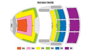 Fred Kavli Theatre Detailed Seating Chart Ticketingbox Shen Yun 2020 Thousand Oaks Shen Yun Tickets