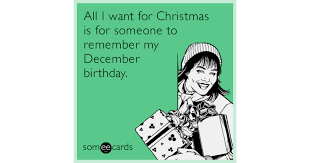 All I Want For Christmas Is For Someone To Remember My December