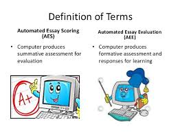 artificial unintelligence why and how automated essay scoring doesn t   2 definition of terms automated essay scoring