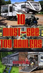 10 must see toy hauler rvs