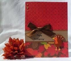Handmade Thanksgiving Cards Homemade Simple Snehilsanthalia