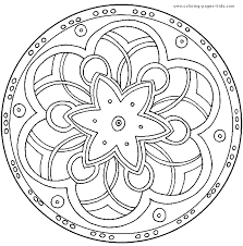 Small Picture mandala color page coloring pages for kids miscellaneous Coolagenet