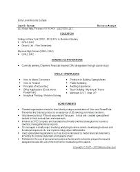Financial Analyst Resume Sample Assistant Financial Controller Cost