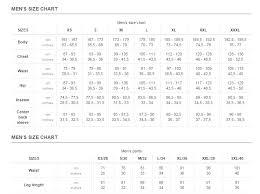 Helly Hansen Jacket Size Chart Hh Mens Size Chart Jpg