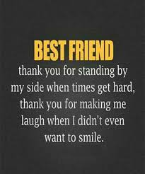 Quotes For Best Friends Mesmerizing Best Friend Forever Quotes Best Friend Thank You For Standing