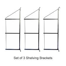 container shelving brackets set of 3 3210