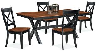 nantucket coffee table dining room furniture trestle table and 4 side chairs black and cherry seaside nantucket coffee table