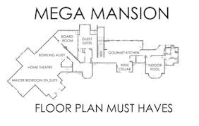 >mega mansion floor plans the must have amenities supreme auctions mega mansion floor plans