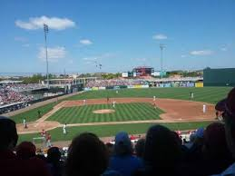 Can Be In The Shade During A Day Game At Hammond Stadium At