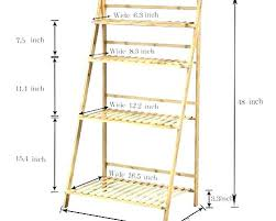 inch wide shelving unit stands plant flower stand rack shelf bamboo 12 shelves inspiring wire sh