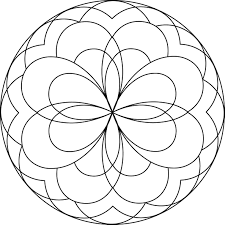 Free Simple Mandala Coloring Pages 4082 Free Simple Mandala