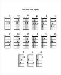 13+ Guitar Chord Chart Templates - Freesample, Example, Format ...