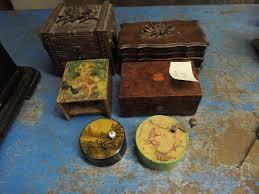 Restoration, repair, or refinishing of music box cases. Mbsi Collection Mbsi