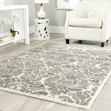 com safavieh porcello collection prl3714a grey and ivory with 4 by 6 rug designs 17