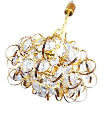 chandeliers german sputnik gold plated crystal chandelier from palwa 1960s crystal sputnik chandelier swarovski crystal