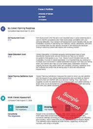 Career Assessments Career Assessments University Career Center