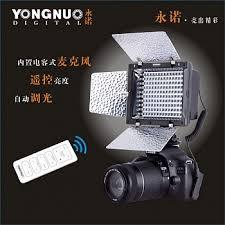 <b>Накамерный</b> светодиодный <b>свет Yongnuo YN</b>-160 II <b>LED</b>, 5500K ...