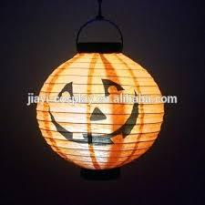lamp led pumpkin hanging paper lantern light spider bat skeleton holiday party decor scary chandelier