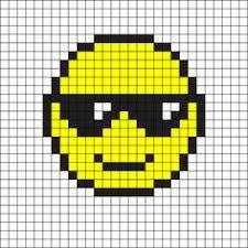 Emoji Perler Bead Patterns Interesting Emojis Perler Beads Emojis Pinterest Emojis Cross Stitch