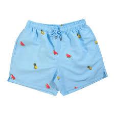 Mens Designer Swim Trunks 2017 Pineapple Watermelon Swim Shorts