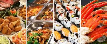 Asian buffet garden restaurant