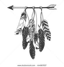 Cherokee Indian Dream Catcher Collection of 100 Native American Wolf And Feather Tattoos 56