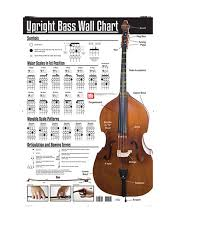 bass scales wall chart mel bay 30083 upright bass wall chart first stop music shop