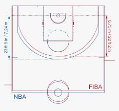 transpa basketball court clipart