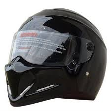 street bike bandit racing black motorcycle helmet full face star